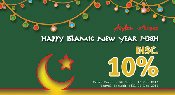 Airpaz Islamic New year Promo