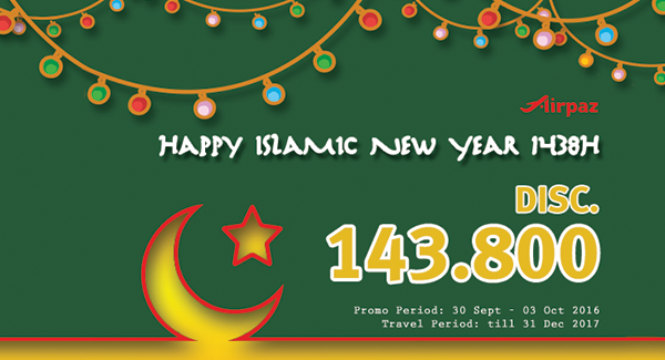 Airpaz Promo Islamic New Year