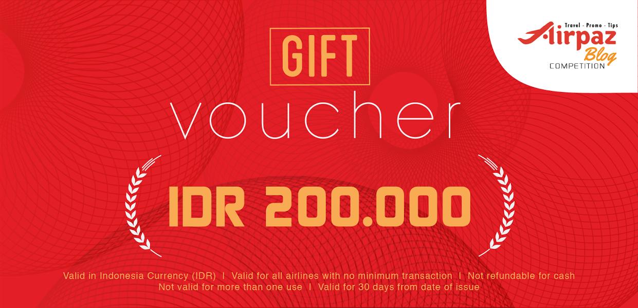 Pengumuman Pemenang Voucher Lomba Menulis Blog Aku Cinta Indonesia Bersama Airpaz