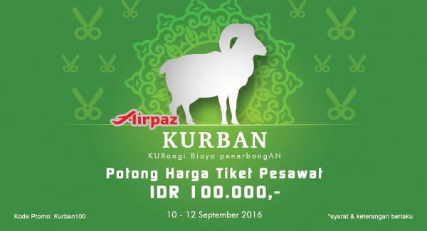 Promo Tiket Pesawat Idul Addha 100 Ribu