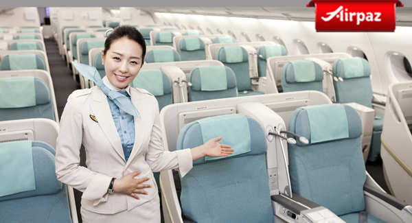 Korean Air stewardess uniform