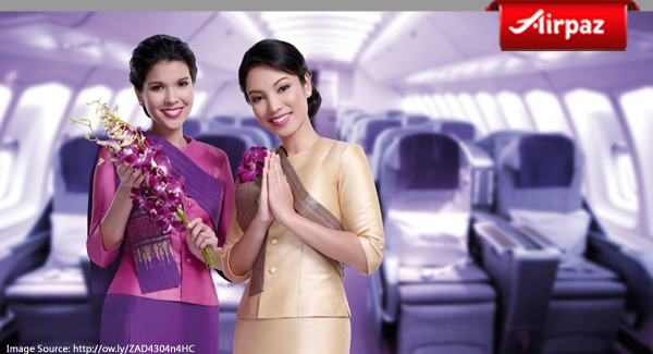 Thai Airways stewardess uniform