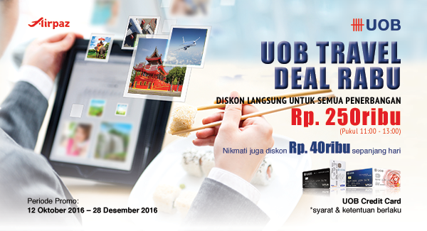 UOB WeekendSale Airpaz
