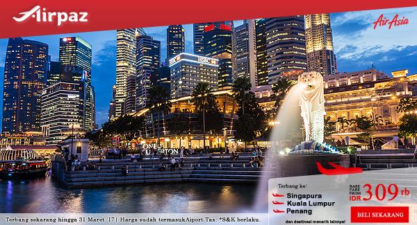 Promo AirAsia Liburan Lebih Ramai Lebih Seru di Airpaz