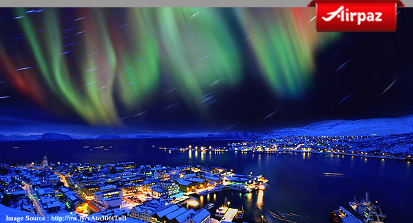 Northern Light, Tromso, Norwegia