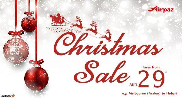 Jetstar Australia Promotion It S Christmas Sale
