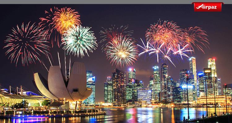 malam tahun baru ke singapura