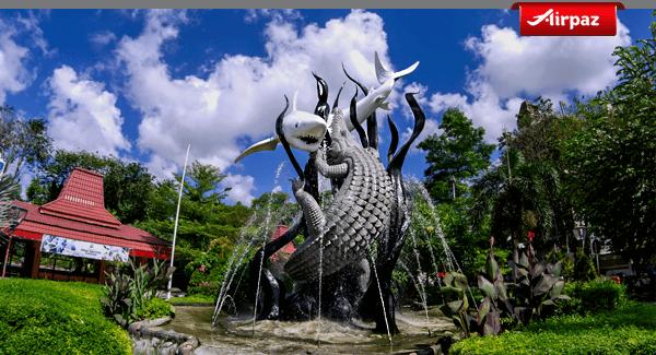 Kisah Dan Makna Patung Sura Dan Baya Patung Lambang Kota Surabaya