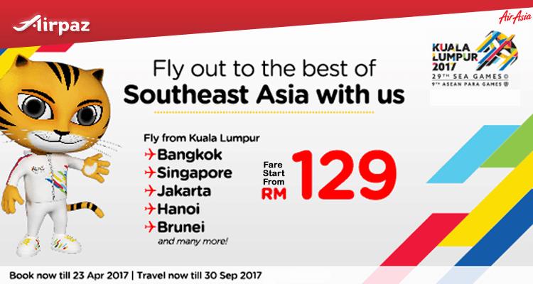 AirAsia Malaysia Promotion! Southeast Asia Special