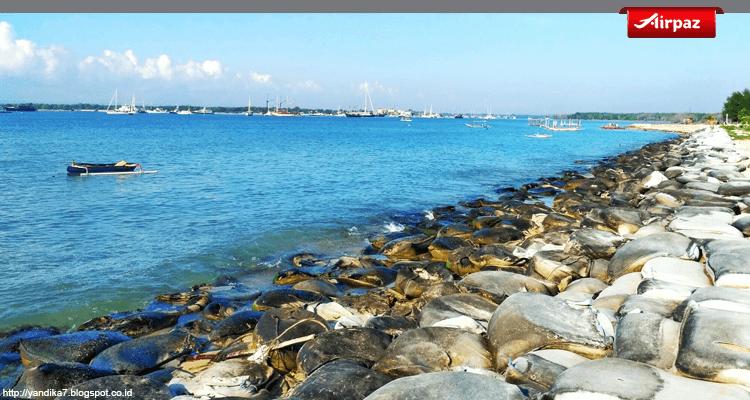 gambar pantai semawang