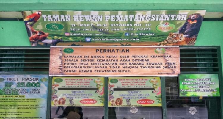 Wisata Taman Hewan Pematang Siantar Di Medan Airpaz Blog