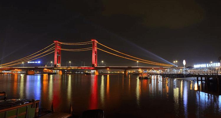 jembatan-ampera-malam-hari
