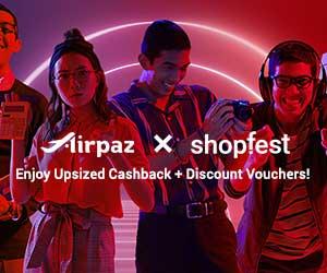 Airpaz Promo Shopfest
