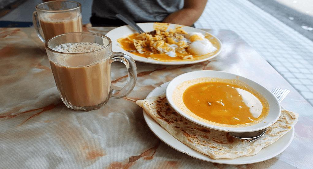 5 Resto Halal di Malaysia - Tea Mansion Stall