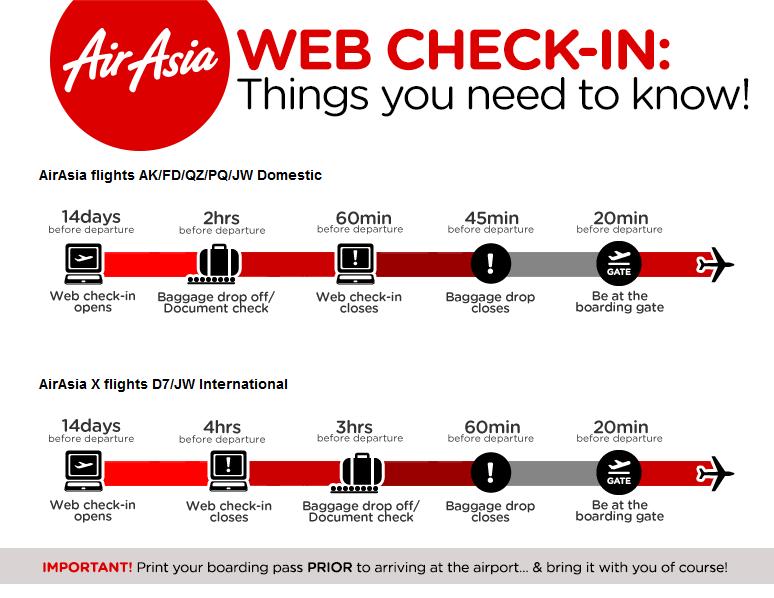 Cara Melakukan Web Check in AirAsia