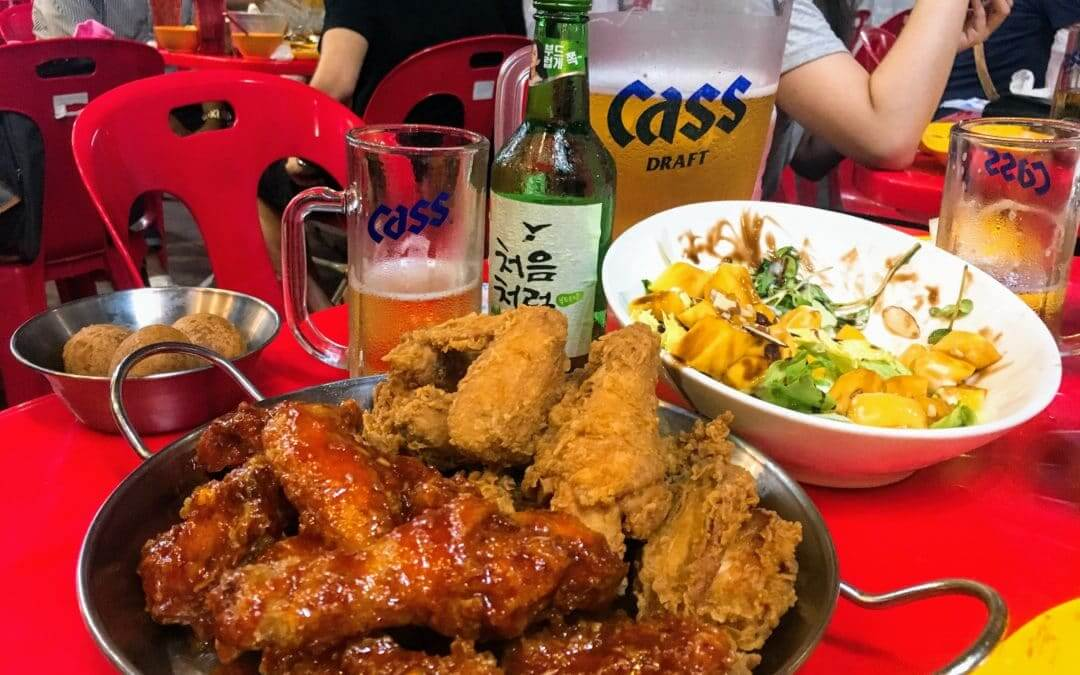 BHC Chicken Myeongdong