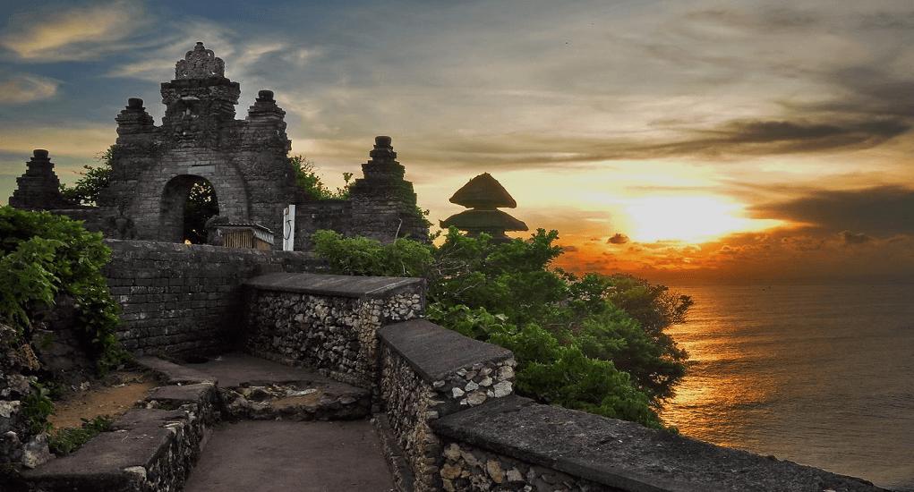 Bali - Pura Luhur Uluwatu or Uluwatu Temple