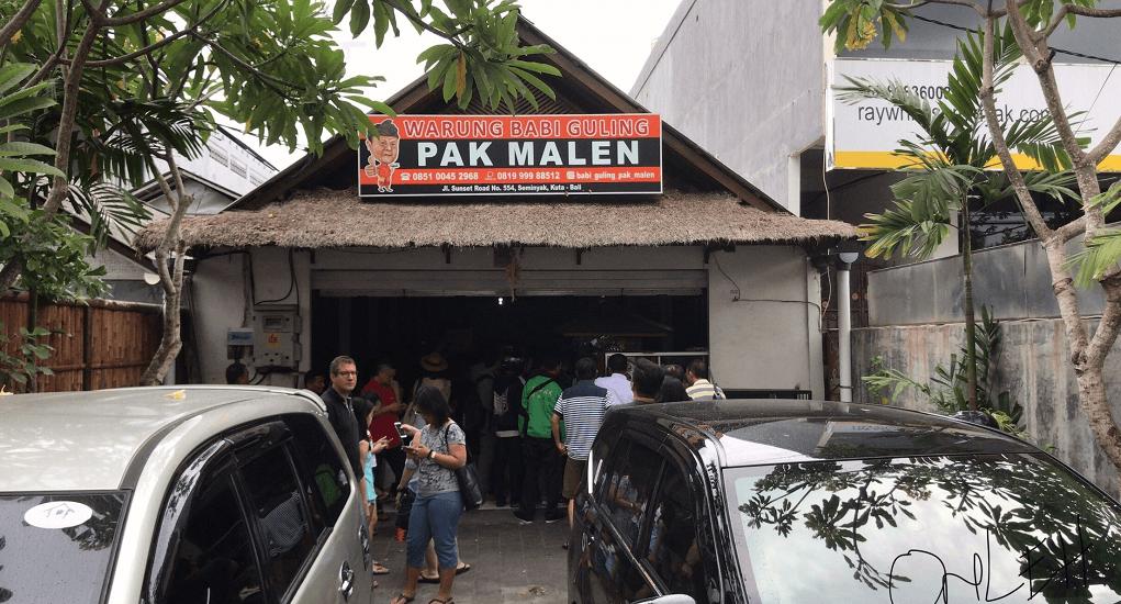 Bali food - Babi Guling Pak Malen