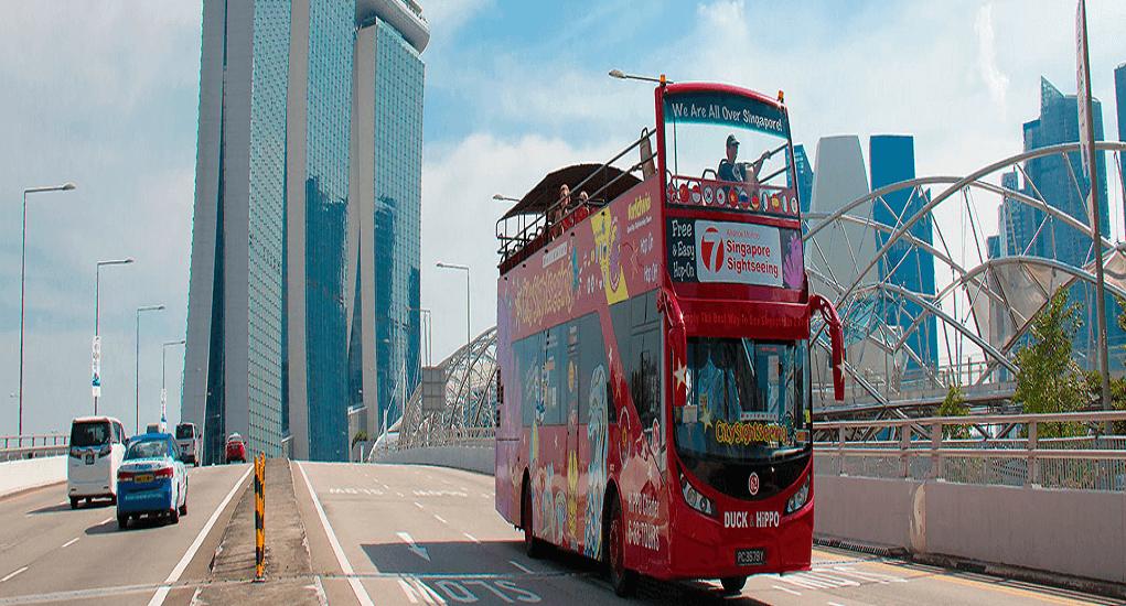 Bandara Changi - Mengikuti Tour Mengelilingi Kota Singapura