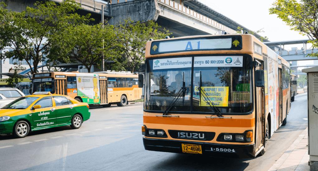 Bandara Don Mueang - Bus