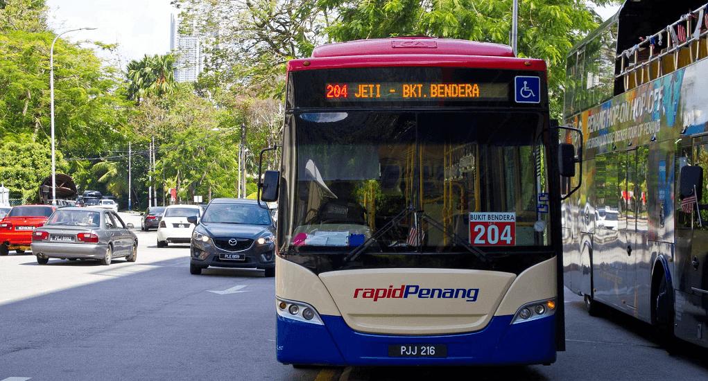 Bandara Penang - Bus