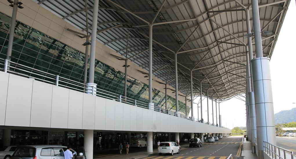 Bandara Penang - Terminal Kedatangan