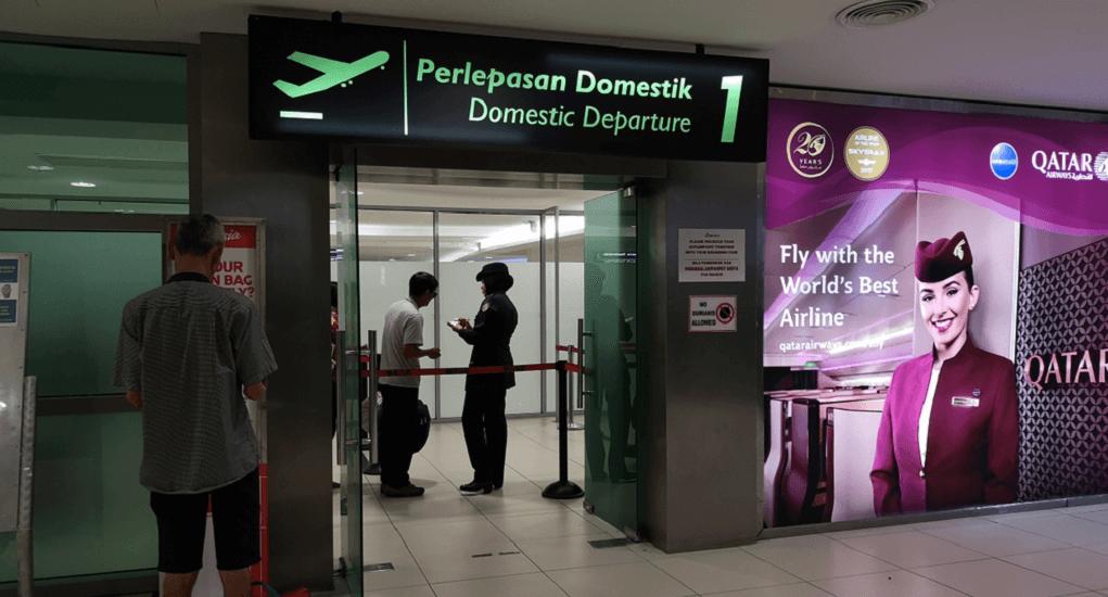 Bandara Penang - Terminal keberangkatan