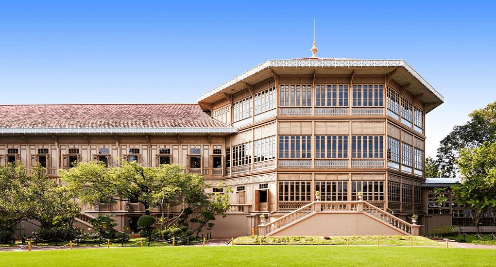 Bangkok - Vimanmek Teak Mansion