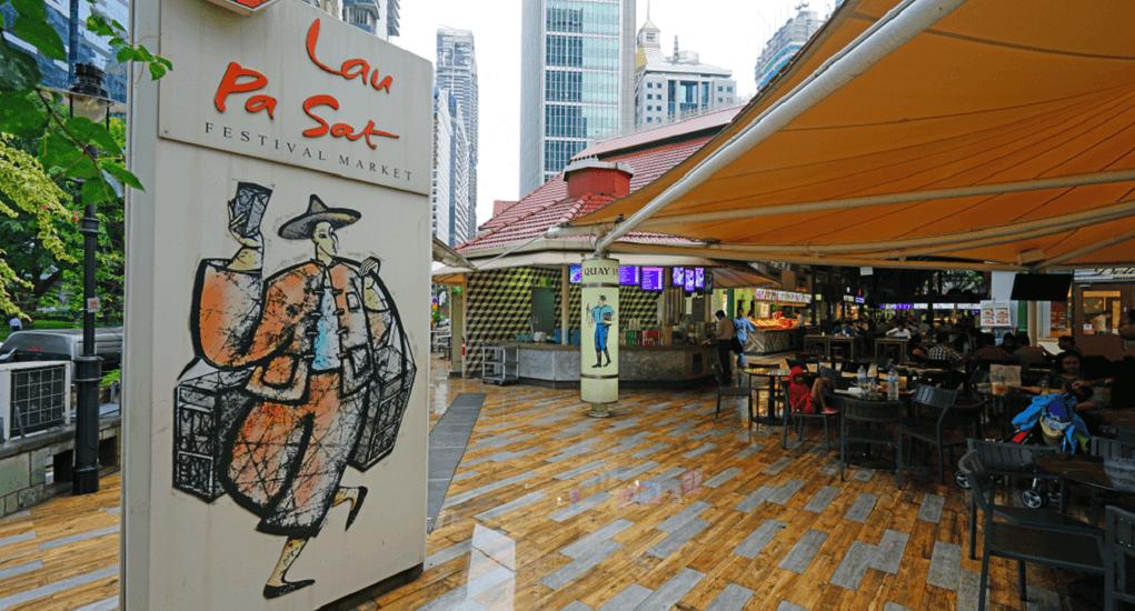 Batam - Singapura - La Pa Sat Festival Market