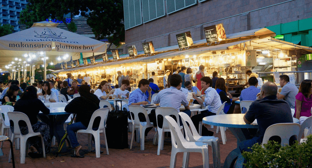 Batam - Singapura - Makansutra Gluttons Bay