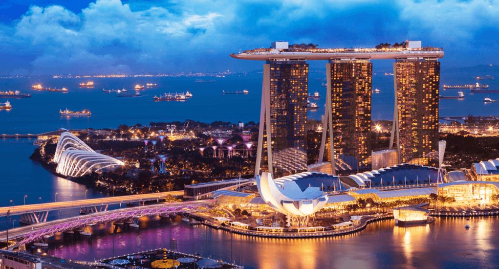 Batam - Singapura - Marina Bay Sands