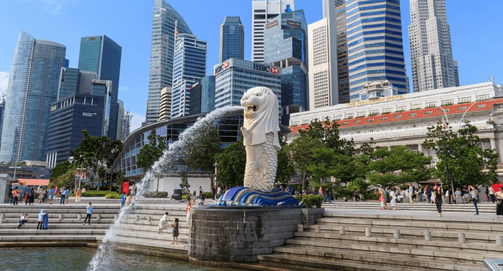 Batam Singapura Merlion Park Airpaz Blog Tips