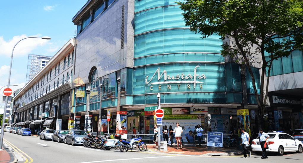 Batam - Singapura - Mustafa Center