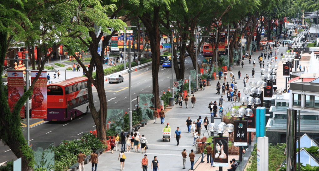 Batam - Singapura - Orchard Road