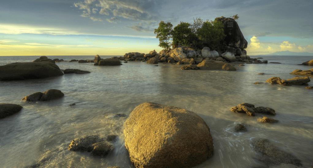 Batu Ferringhi - Batu Ferringhi Berbentuk Wisata Pantai