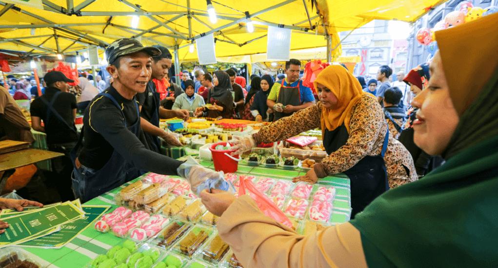 Bazaar Ramadhan - Jalan Masjid India