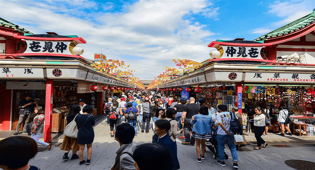 Biggest Shopping Places in Tokyo - Asakusa