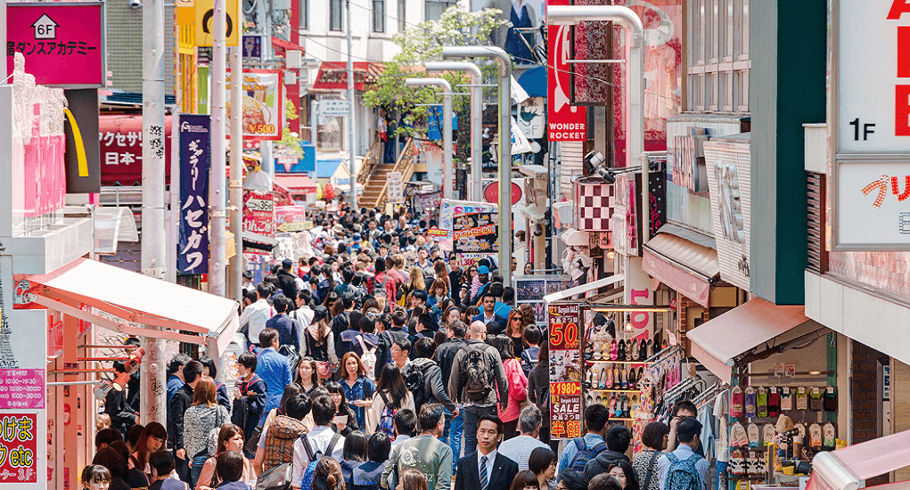 Biggest Shopping Places in Tokyo - Omotesando Avenue
