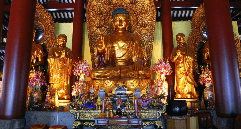 Bright Filial Piety Temple - Mahavira Hall