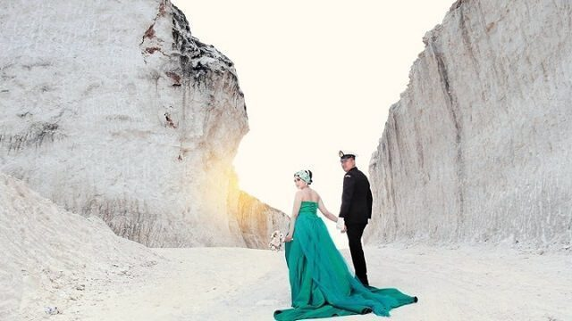 foto pre-wedding di bukit kapur jaddih
