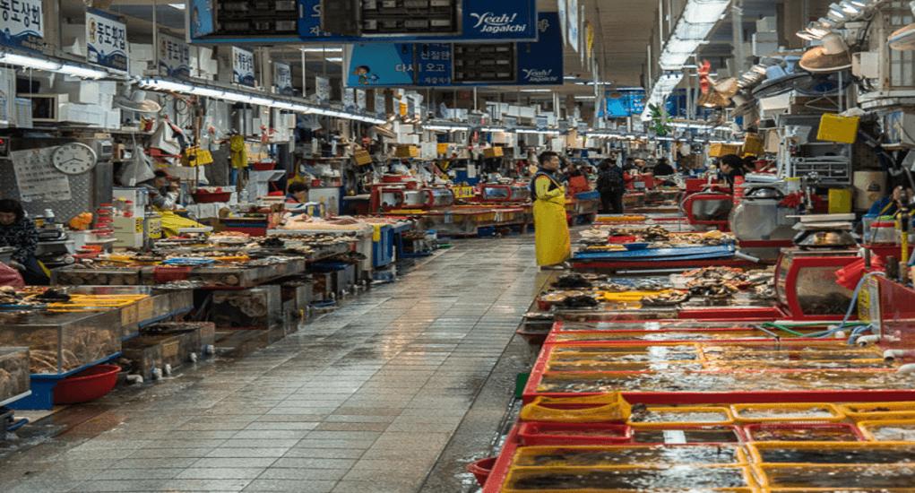 Busan - Jagalci Market