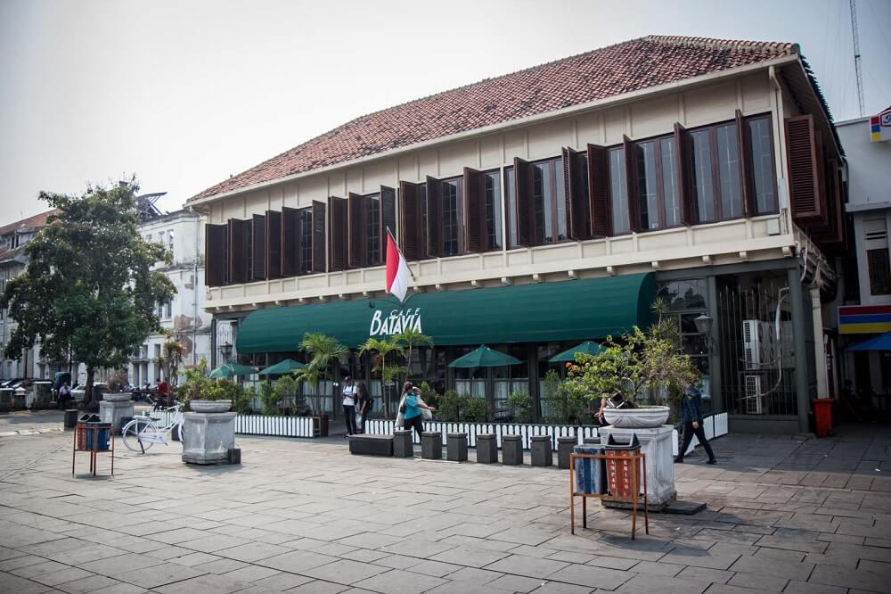 Cafe Batavia di Kota Tua