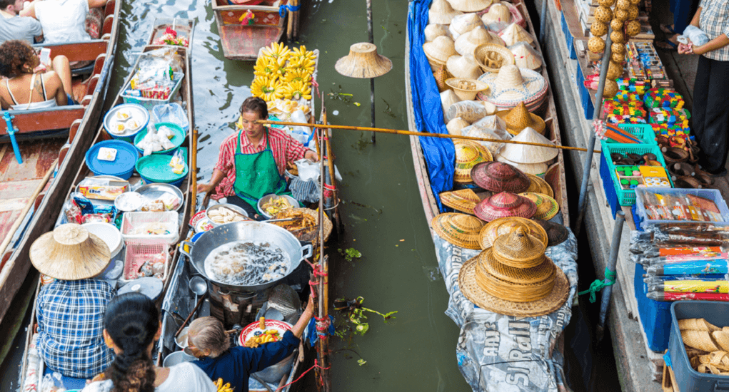Cai Rang Floating Market - An Explorable Floating Market