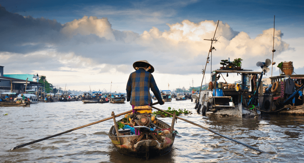 Cai Rang Floating Market - How to get there