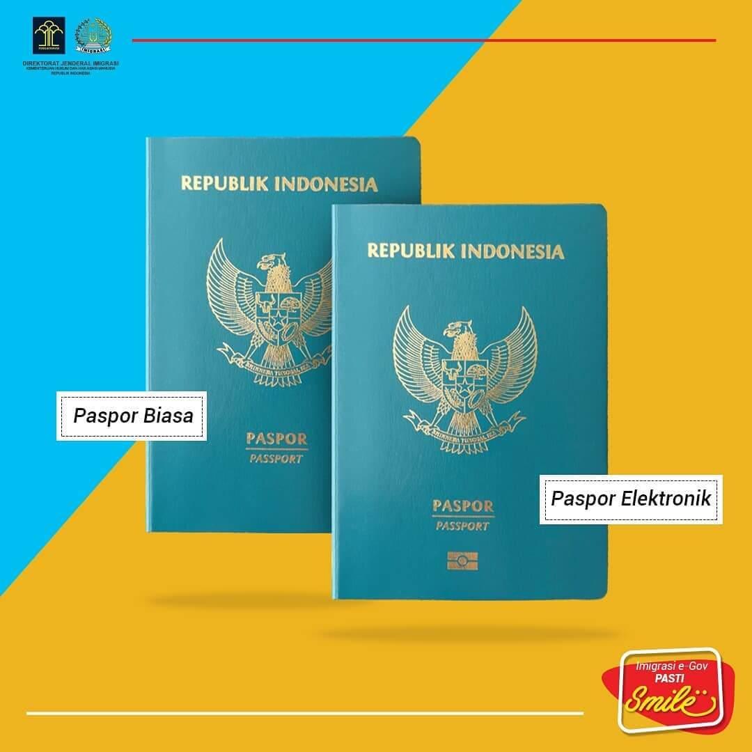 Paspor Biasa dan Paspor Elektronik