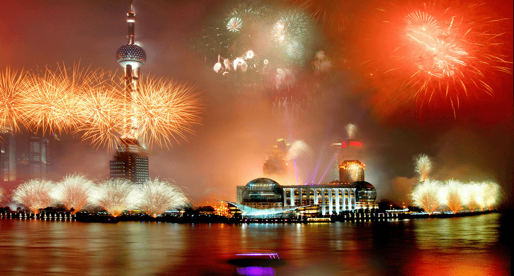 Celebrate New Year - China