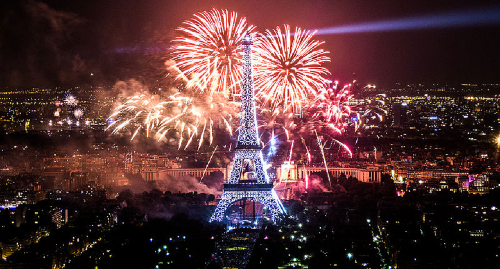 Celebrate New Year - French