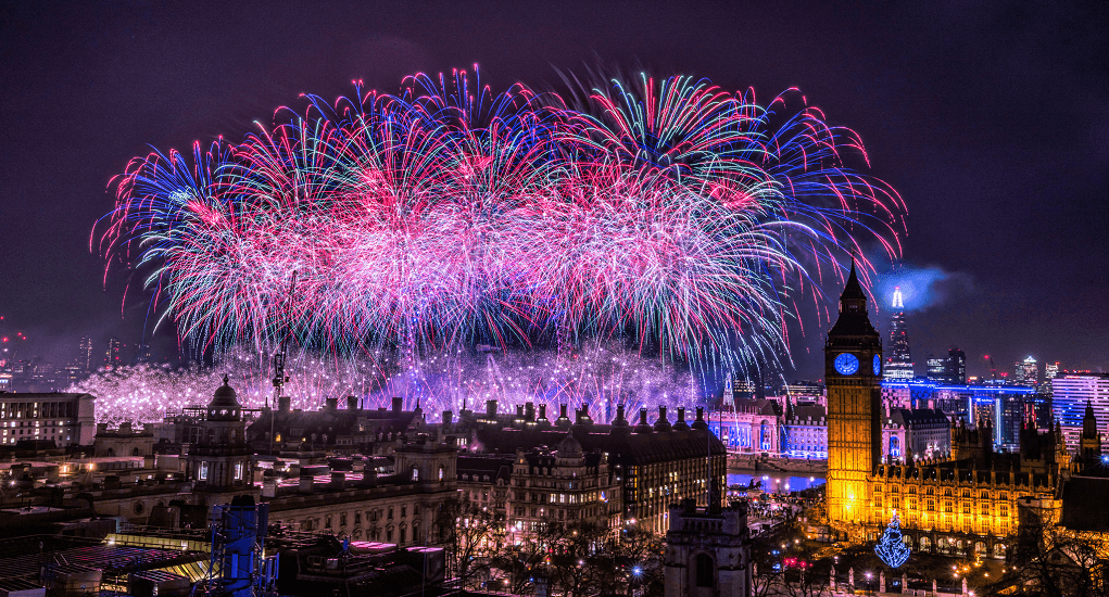 Celebrate New Year - London