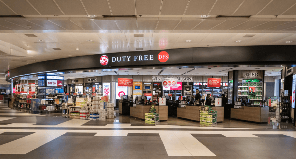 Changi Airport - Duty Free Shopping
