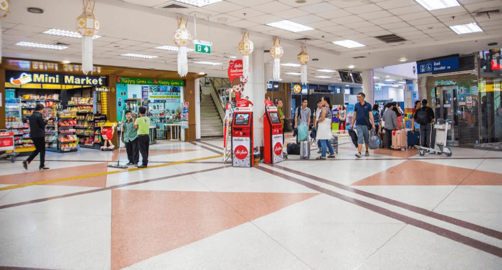 Chiang Mai Airport - Shopping around